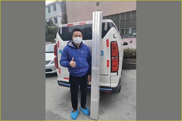 广州铝合金型材厂客户点赞