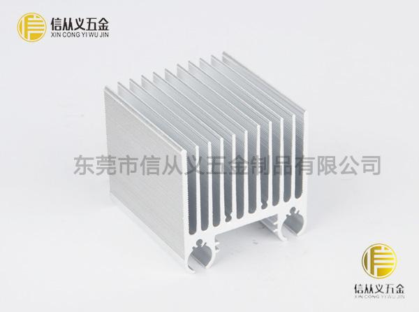高倍数铝型材散热器