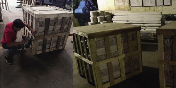 工业铝型材包装