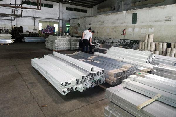 上海工业铝型材定制仓库