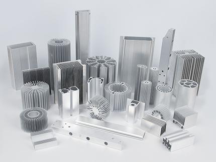 高难度铝型材系列