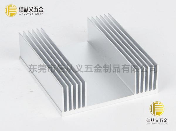 高密齿散热器铝型材