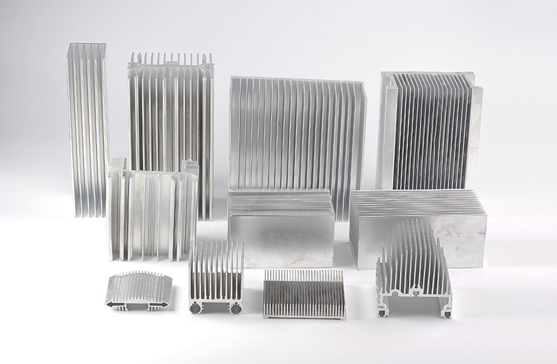 高倍数散热器系列铝型材